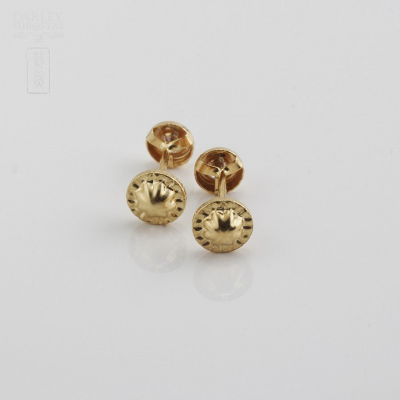 Drinks with cubic zirconia earrings - 2