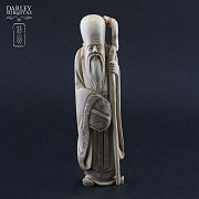 Wise Chinese ivory