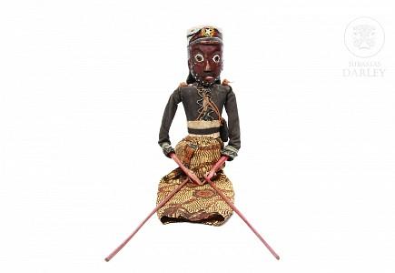 Marioneta de teatro, Wayong Gotek, pps.s.XX