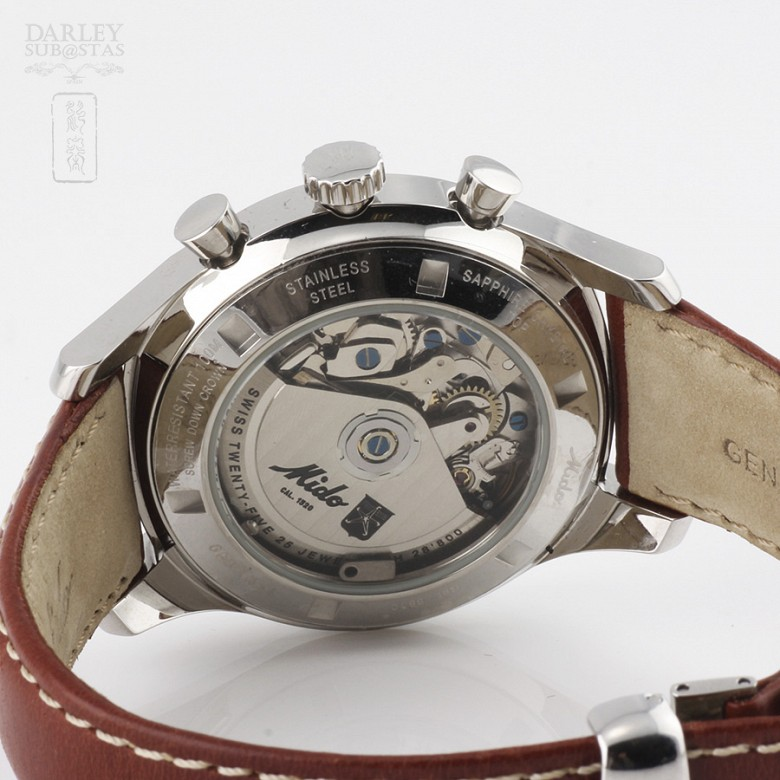 Reloj Caballero Mido Cronógrafo (nuevo) - 1