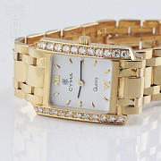 Precioso Reloj Cyma oro y Diamantes - 3