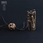 Beautiful bamboo bag - 1