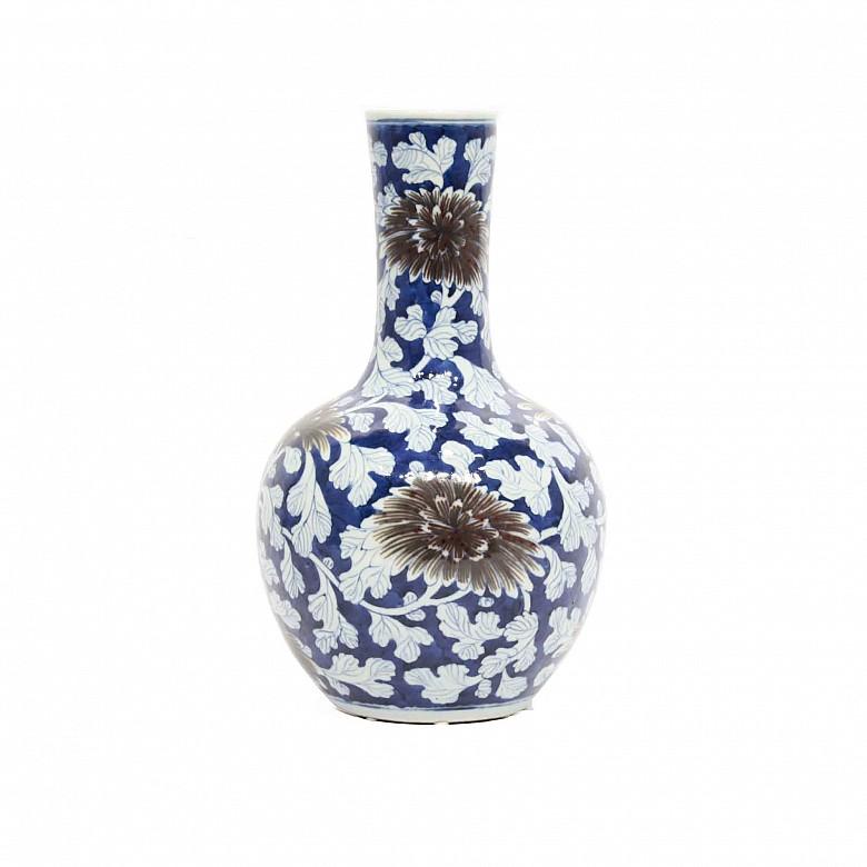 Jarrón de porcelana, Japón, s.XIX