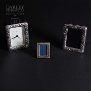 Watch Game and silver photo frames 一组银相框