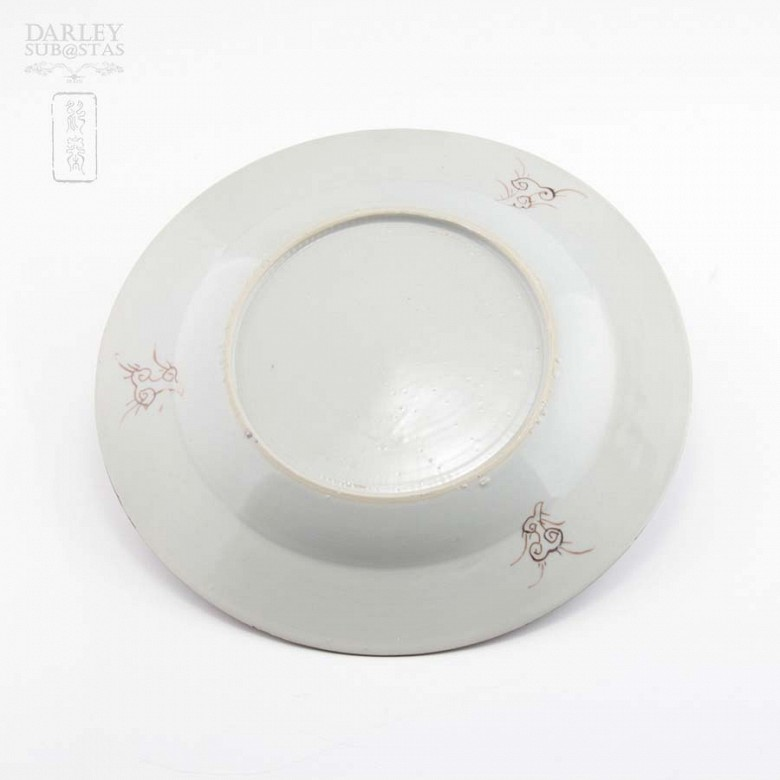 18th century plate Yongzheng - 3