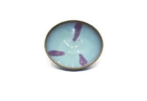 Cuenco de cerámica esmaltada, estilo Junyao
