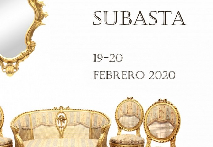 LIVE AUCTION February 20th february 2020  Exhibition  hall from February 5 to 18.