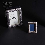 Watch Game and silver photo frames 一组银相框 - 1