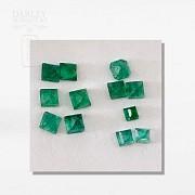 Lot emeralds Colombian - 1