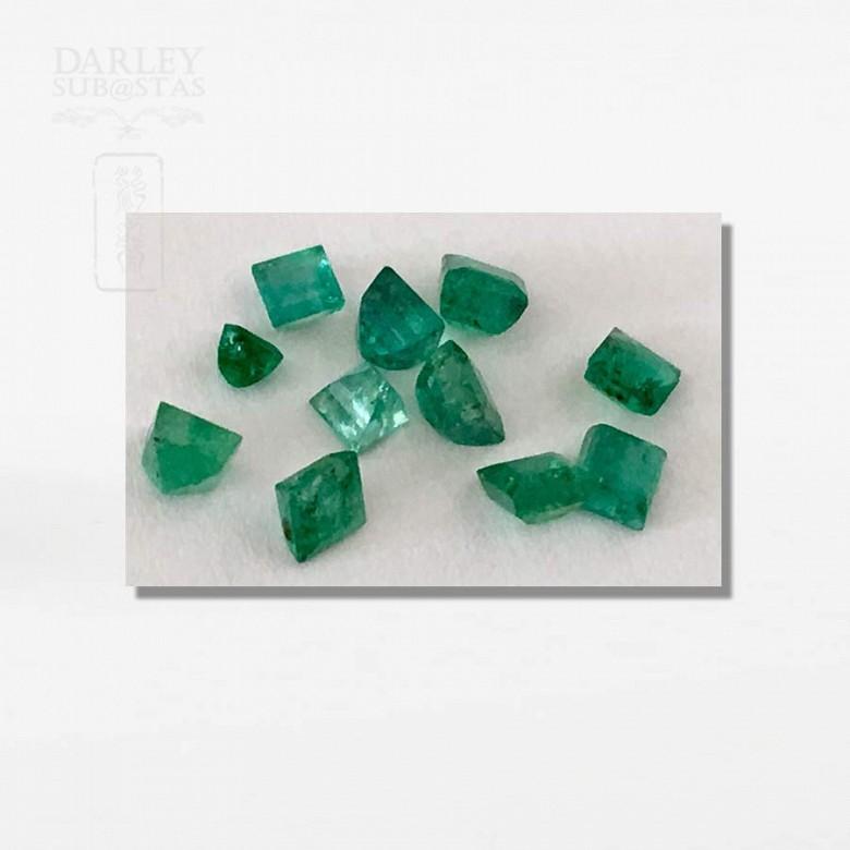 Lot emeralds Colombian - 3