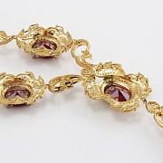 Faller dressing Ruby red and gold - 2