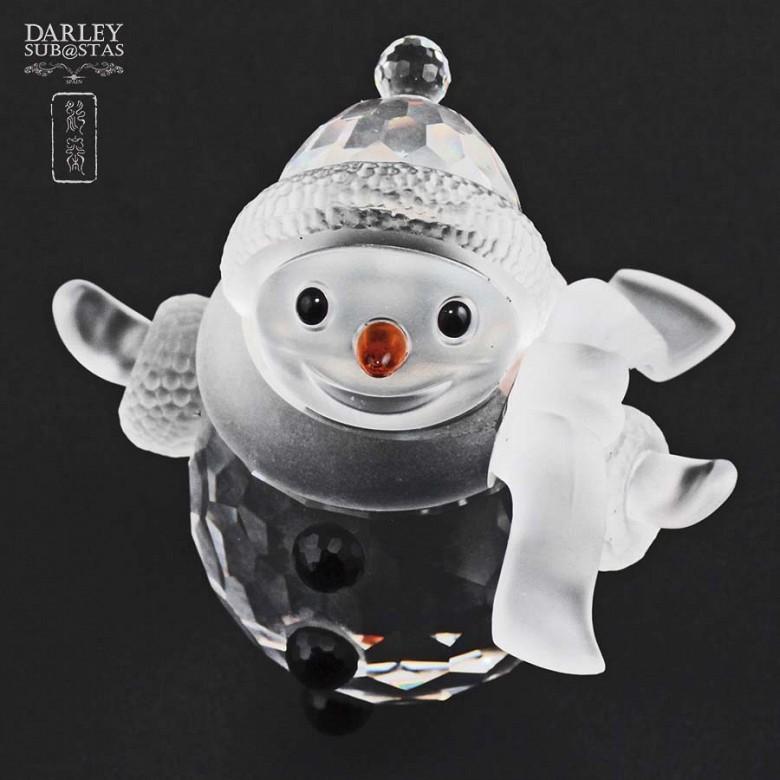 Muñeco de nieve de Swarovski - 1