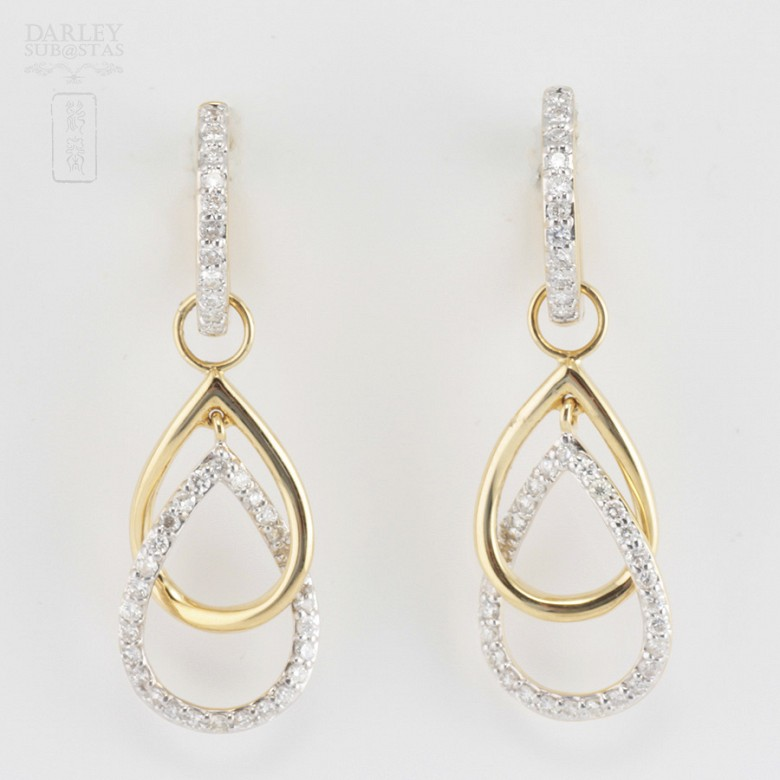 Fantastic diamond earrings 0.70cts