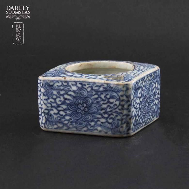 十九世纪 青花瓷盒 - 1