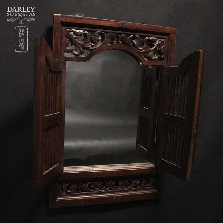 中式嵌镜木框 - 4