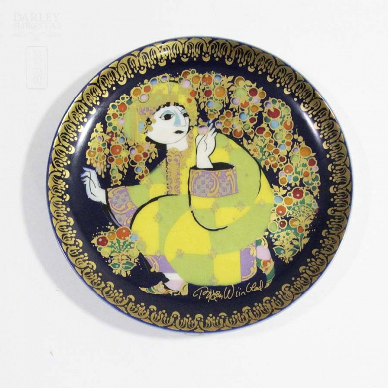 Four Rosenthal porcelain plates, 20th century - 3