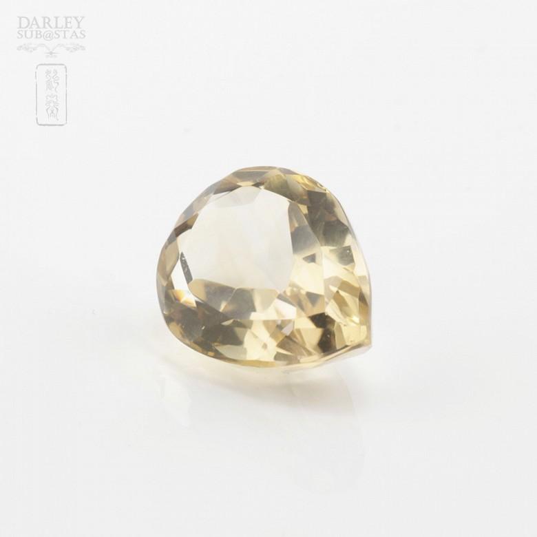 30.20克拉梨型黄晶