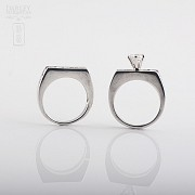 Ring in sterling silver cubic zirconia, 925m / m - 3