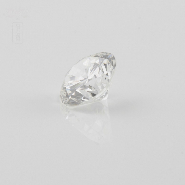 natural diamond, brilliant-cut, weight 1.51cts, - 1