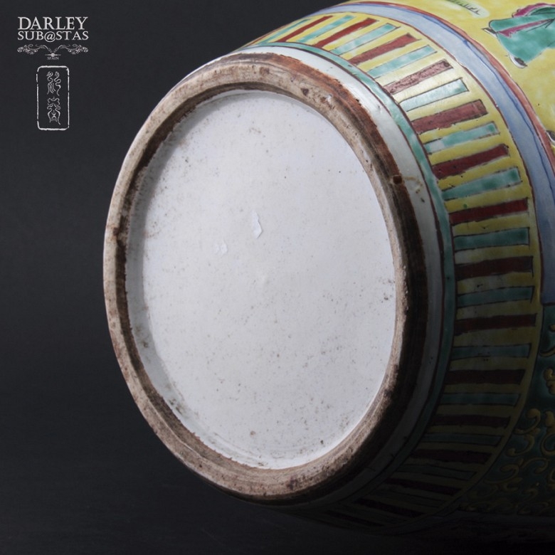 Chinese vase SXIX - 5