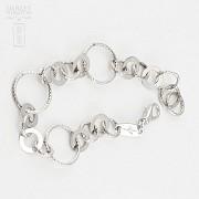 Sterling silver bracelet, 925 m / m