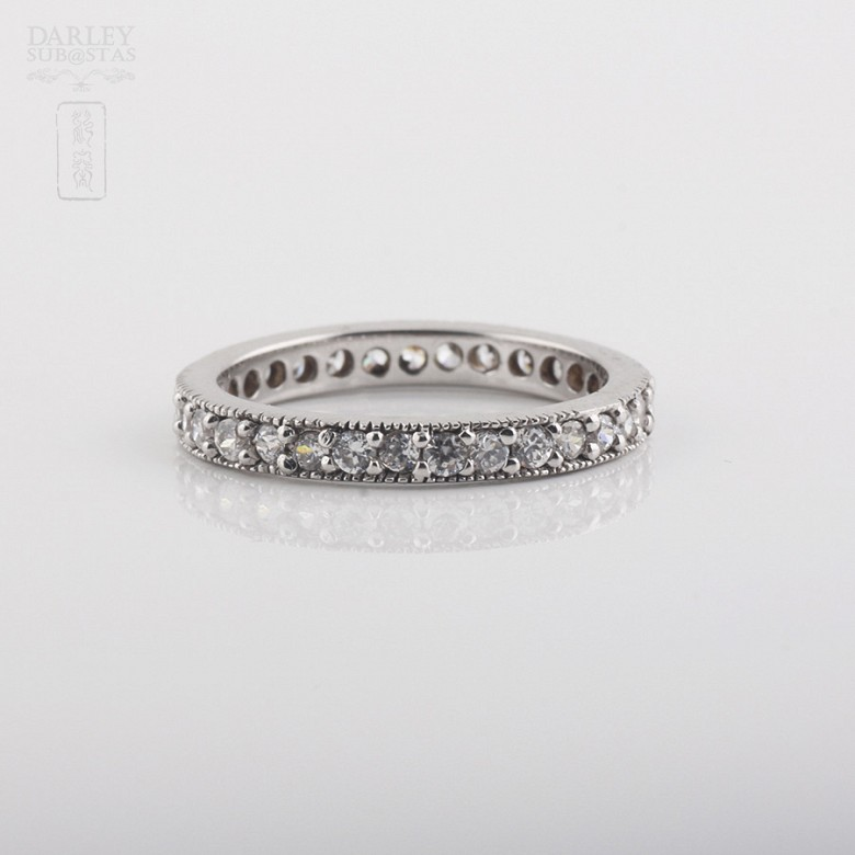 Alliance with sterling silver cubic zirconia - 3