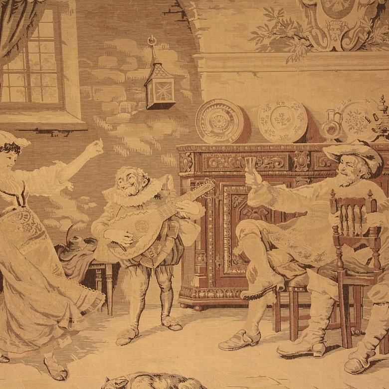 Tapiz siguiendo modelos holandeses, posiblemente s.XIX