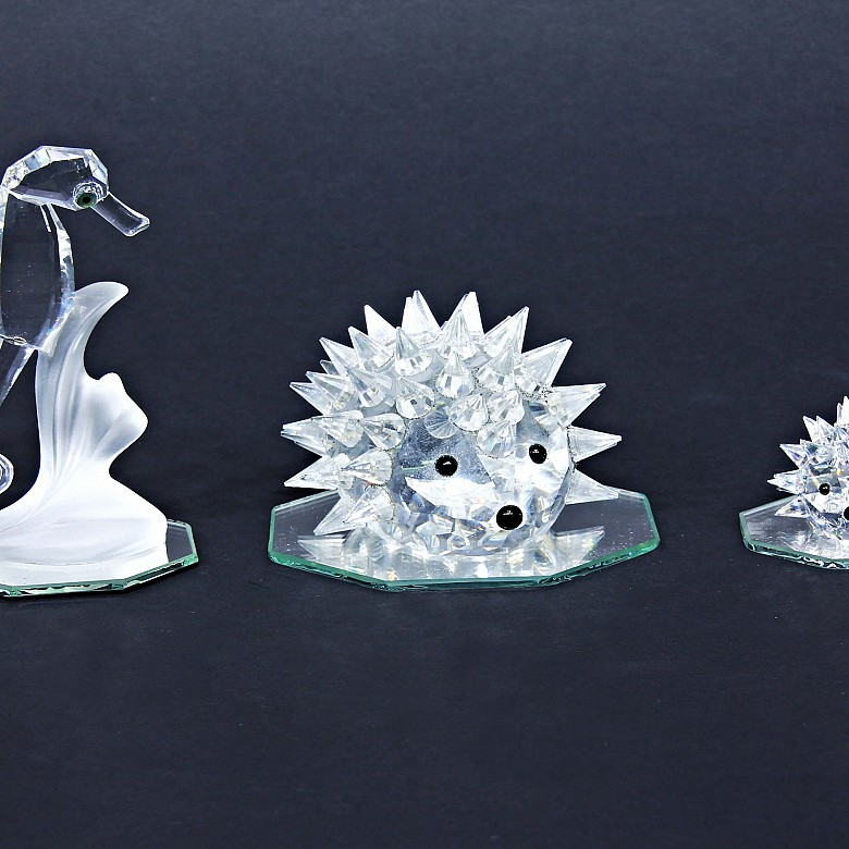 Swarovski crystal lot.