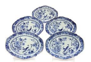 Grupo de fuentes chinas de exportación, período Qianlong (1736-1795)