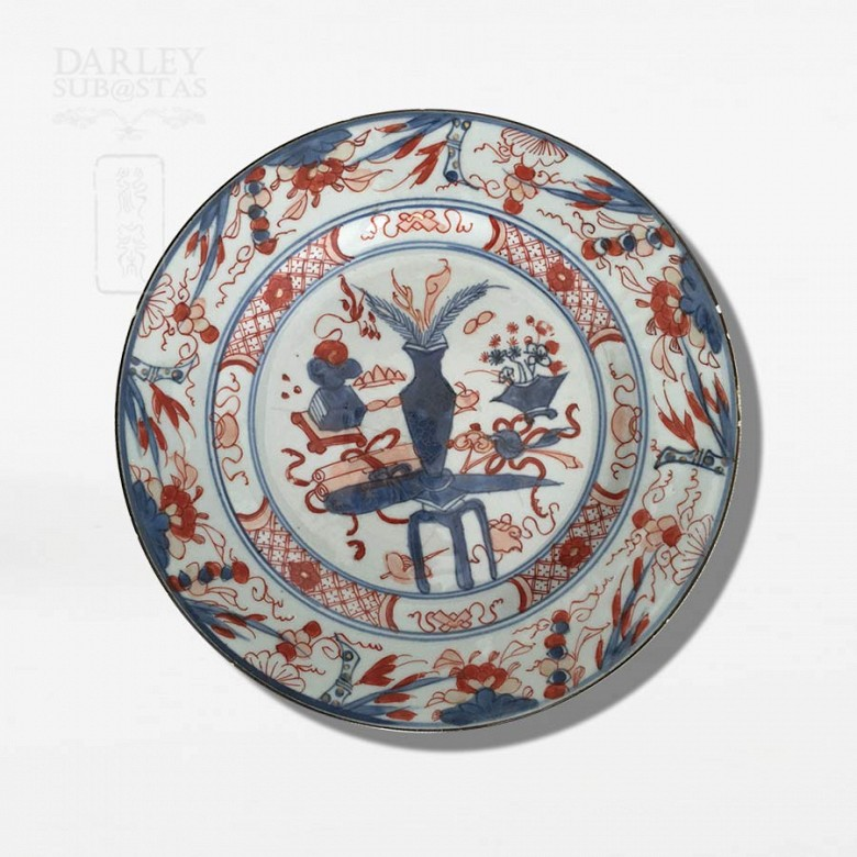 Plate 18th Century Indian Company