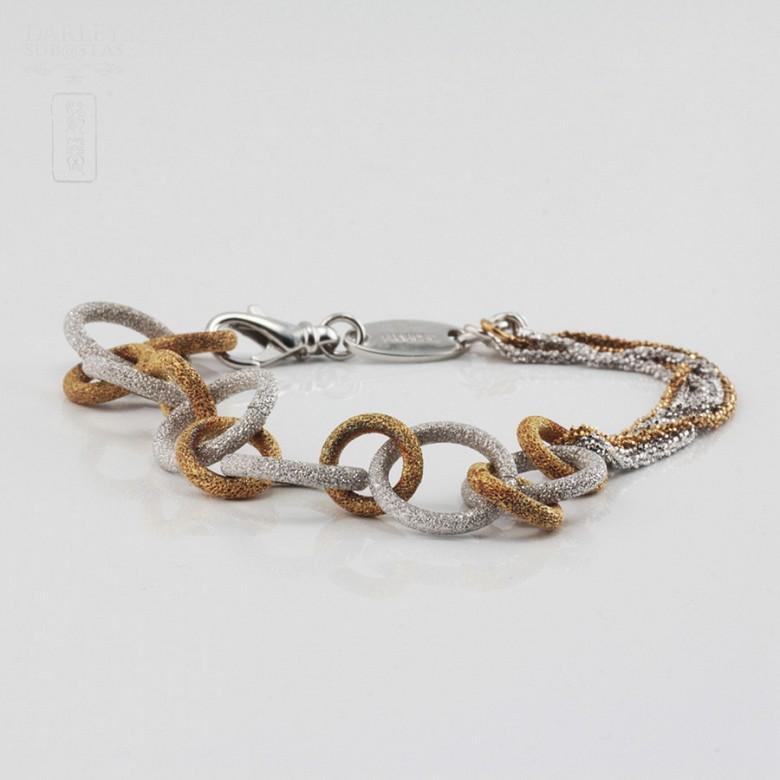 925雙色銀手链 - 2