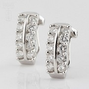 Fantastic diamond earrings 1.82cts