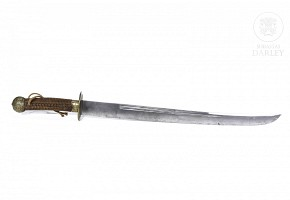 Chinese sword, Qing dynasty.