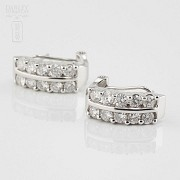 Fantastic diamond earrings 1.82cts - 2