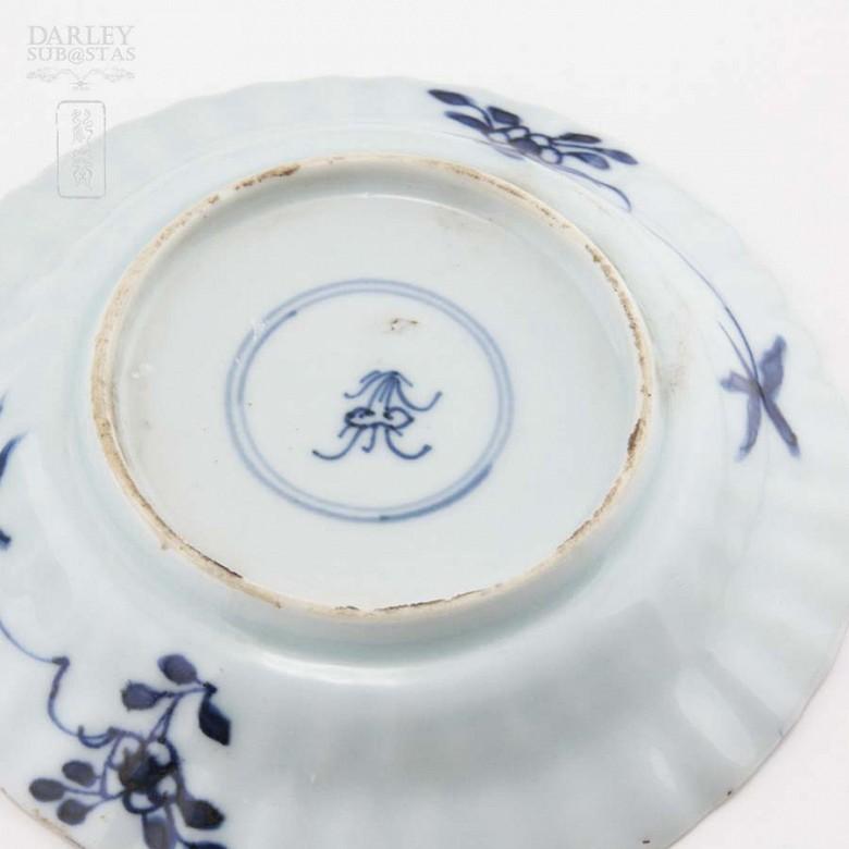 Pareja de platos chinos siglo XVII, kangxi. - 5