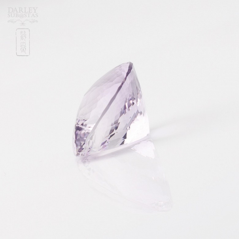 Natural amethyst 37.31 ctsquite clear translucent violet - 1