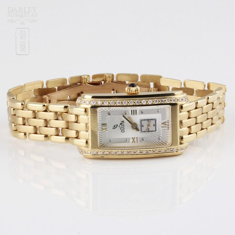Lady Watch 418851 18k Gold Diamond Dogma