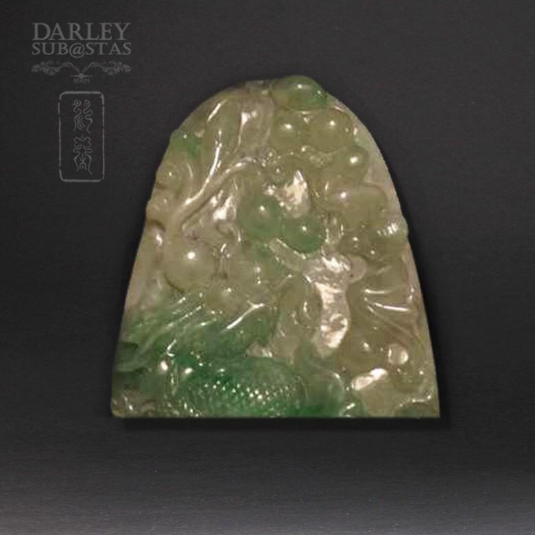 Jadeite Pendant with Dragon - 3