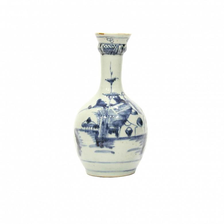 Jarrón de gres esmaltado, China, s.XVIII-XIX