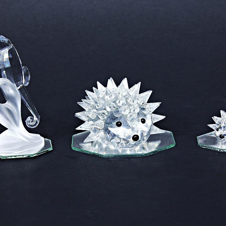 Swarovski crystal lot. - 2
