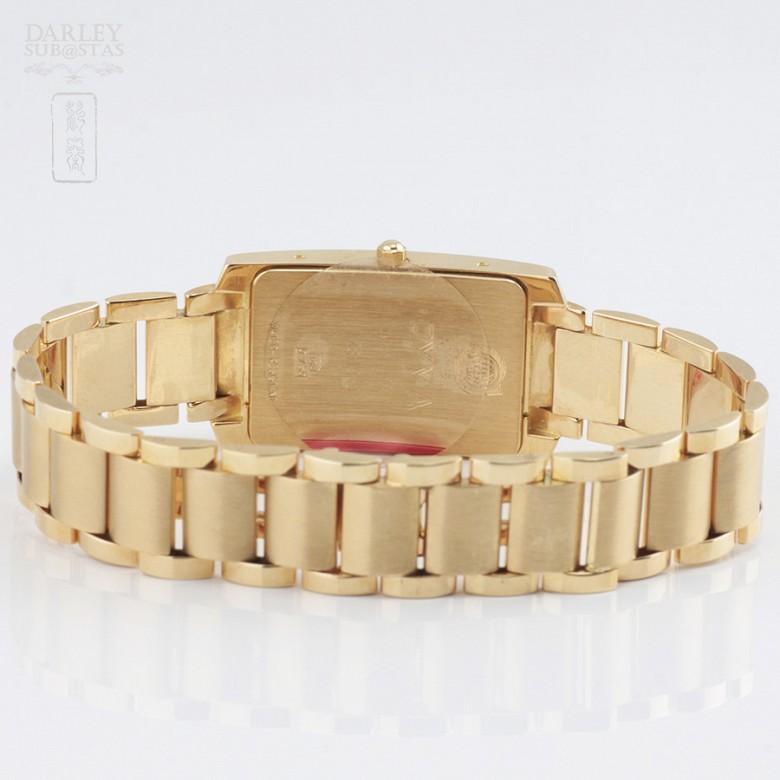 Gold Swiss Watch Cyma - 4