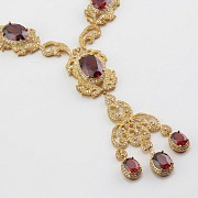 Faller dressing Ruby red and gold - 3