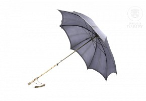 Umbrella with horn handle, early 20th century