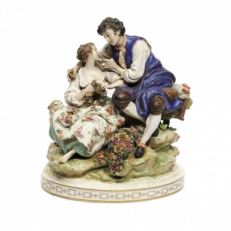 Porcelain figure