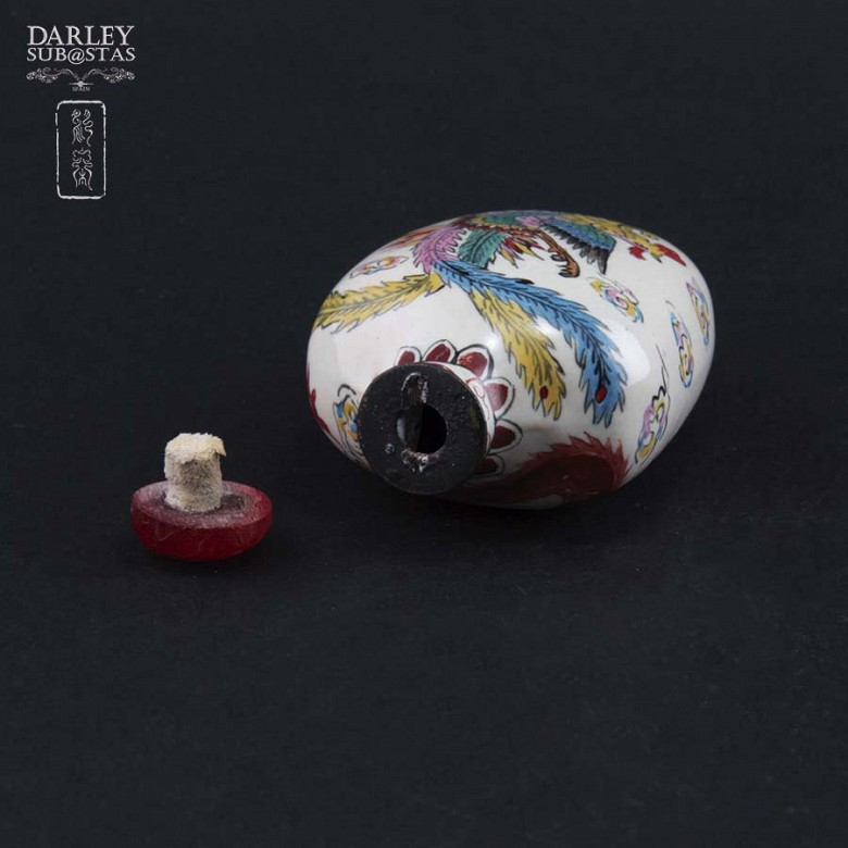 Botella de rape  China de metal esmaltado - 3