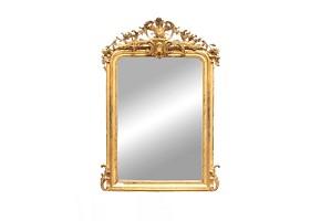 Golden mirror Napoleon III, 19th century