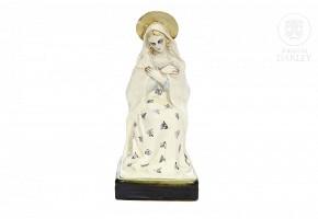 """Antonio Peyró (1882-1954) """"Virgin Mary"""""""