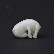 Mythological figure of White Jade Dog - 3