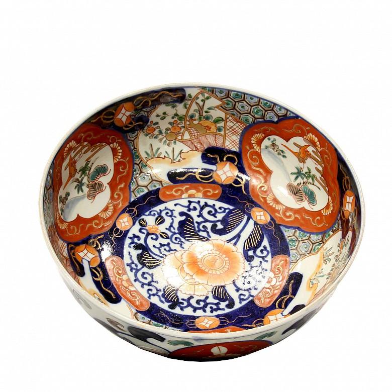Cuenco de porcelana Imari, s.XX