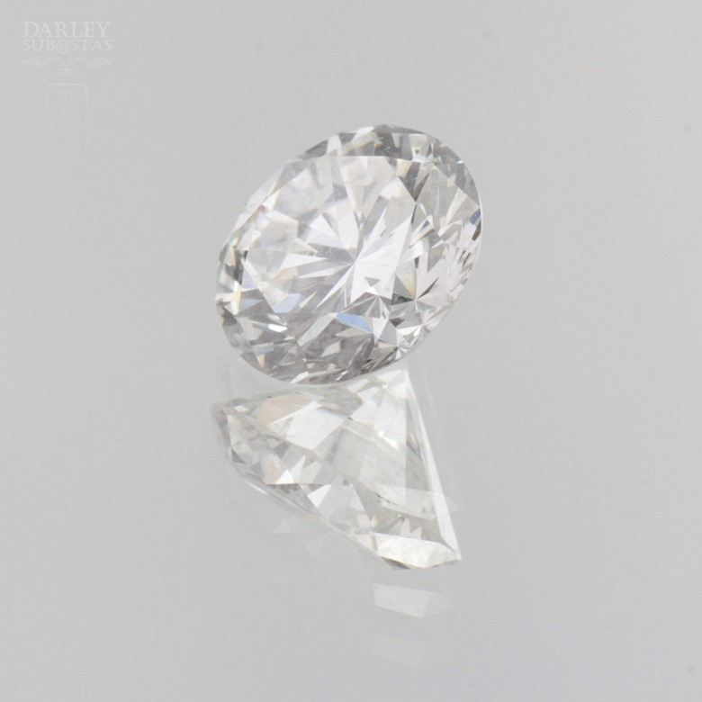 natural diamond, brilliant-cut, weight 1.51cts, - 2